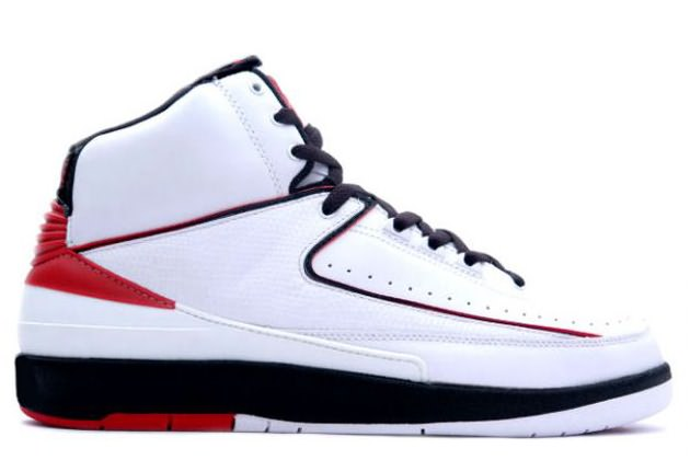 Air Jordan II Retro White/Black/Varsity Red