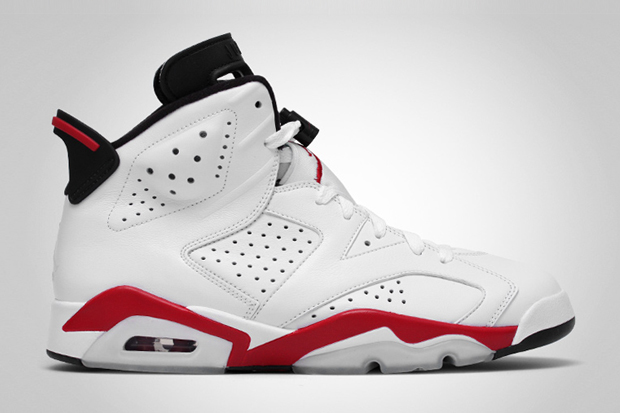 dfea08c32d49ff Release Alert (6 12 10)  Air Jordan VI Retro White Varsity Red-Black ...