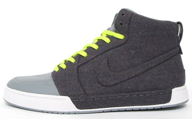 Nike Royal Mid VT Dark Grey/Volt