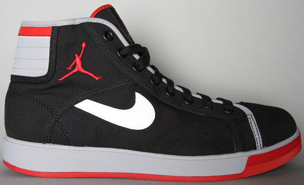 Jordan Sky High Canvas Black/Varsity Red-Cement Grey