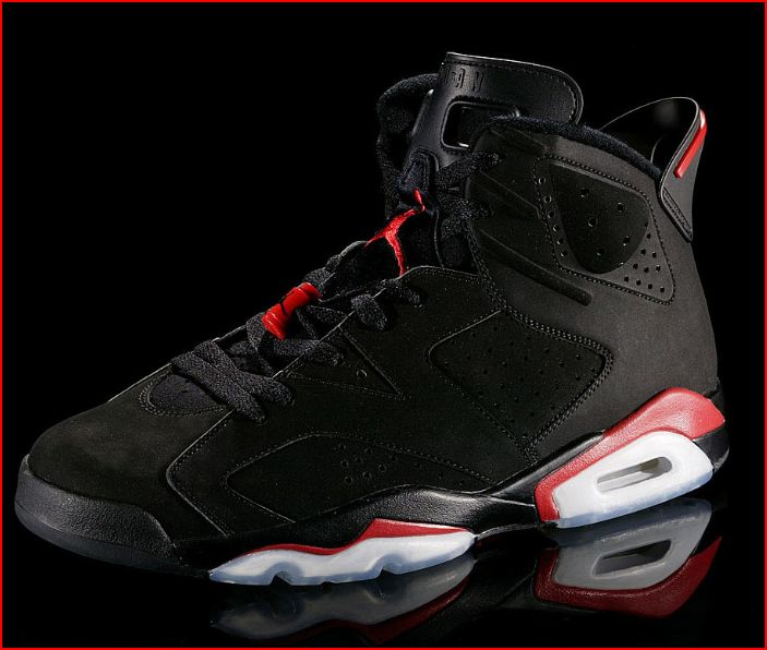 Nike Air Jordan VI 'Infrared' Black/Red