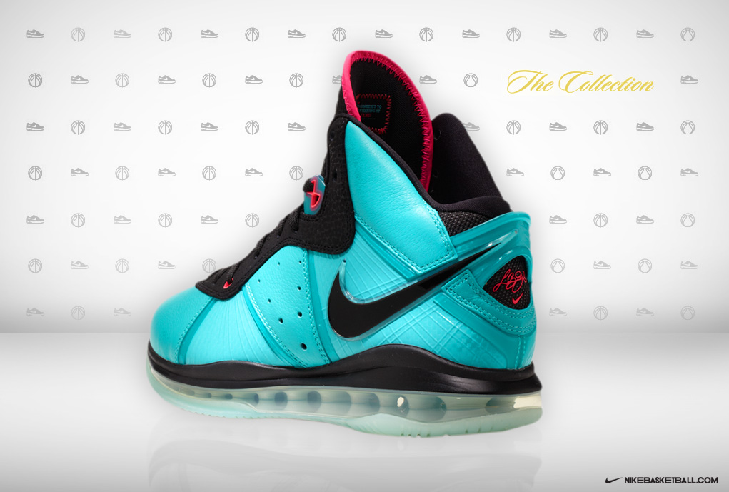 1c36869472f7 South Beach Release  Nike Air Max LeBron VIII Ode to Miami Vice ...