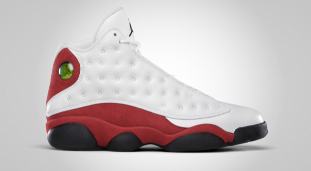 Air Jordan XIII White/Black-Varsity Red