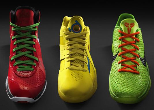 Nike Basketball 'Stoplight' Pack