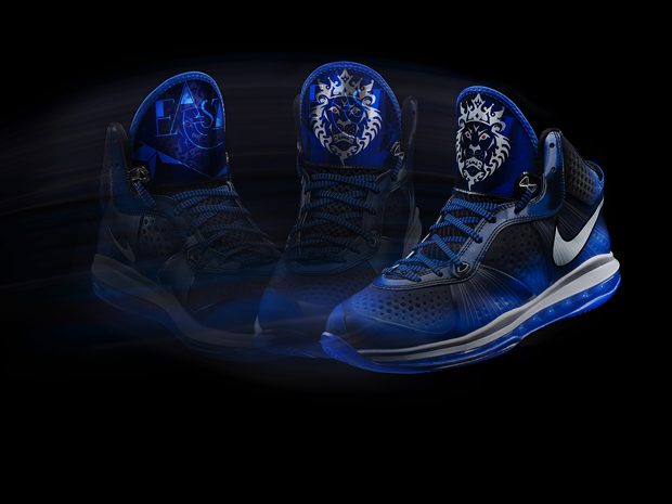 ef46b4a90ae12f All Star Nike LeBron 8 V2 Blue Dream
