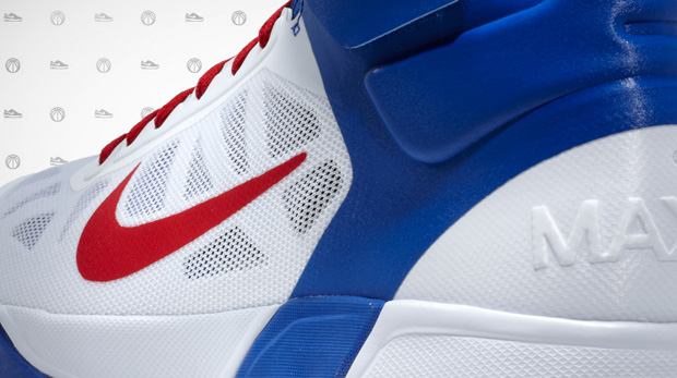 blake griffin nike air max fly by home pe flair