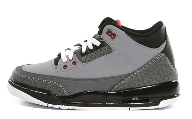Air Jordan III GS 'Stealth'