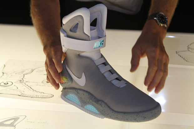 best loved 6eb42 d0c85 Nike Air Mag  Marty McFly