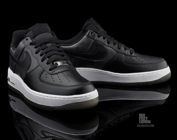 Nike Air Force 1 Low - Black Camo 1