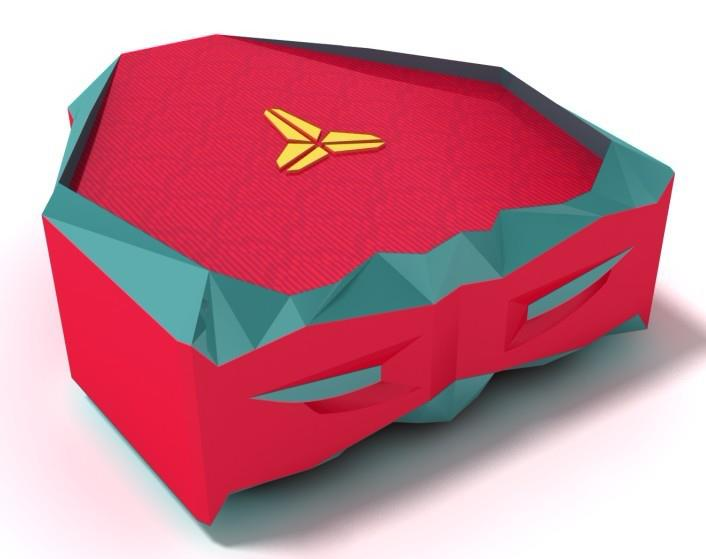 Nike Zoom Kobe VII year of the dragon packaging box