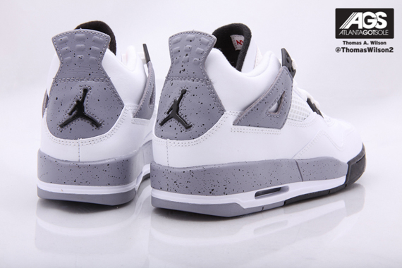 3a0b1016c02706 Air Jordan 4 Retro – White Cement – Image Update