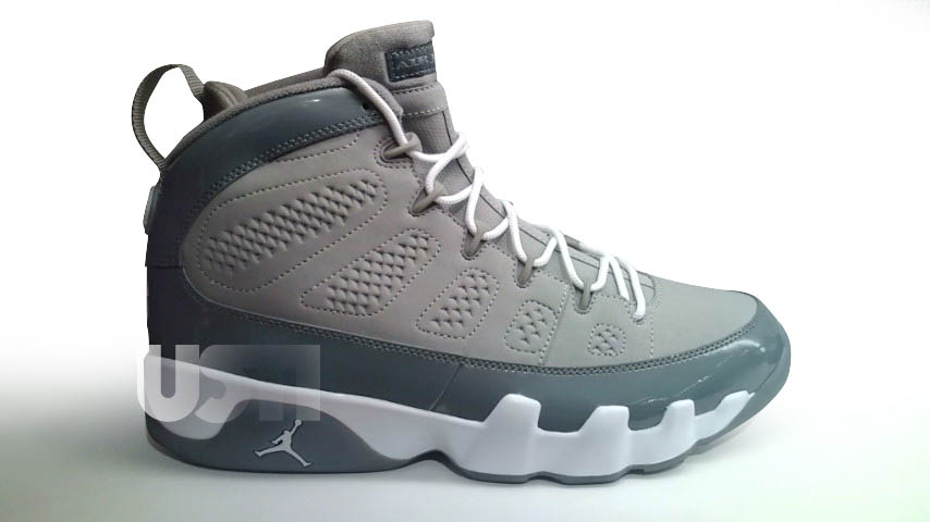 802b86015d35 Air Jordan IX Retro – Cool Grey – 2012 Release