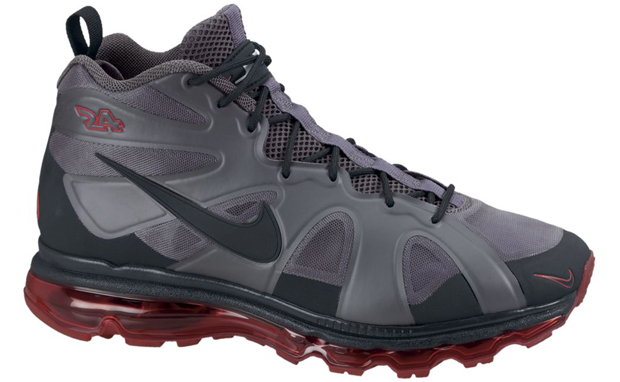 Nike Air Griffey Fury Fuse Grey Red