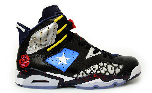 Air-Jordan-6-Comedian-Custom