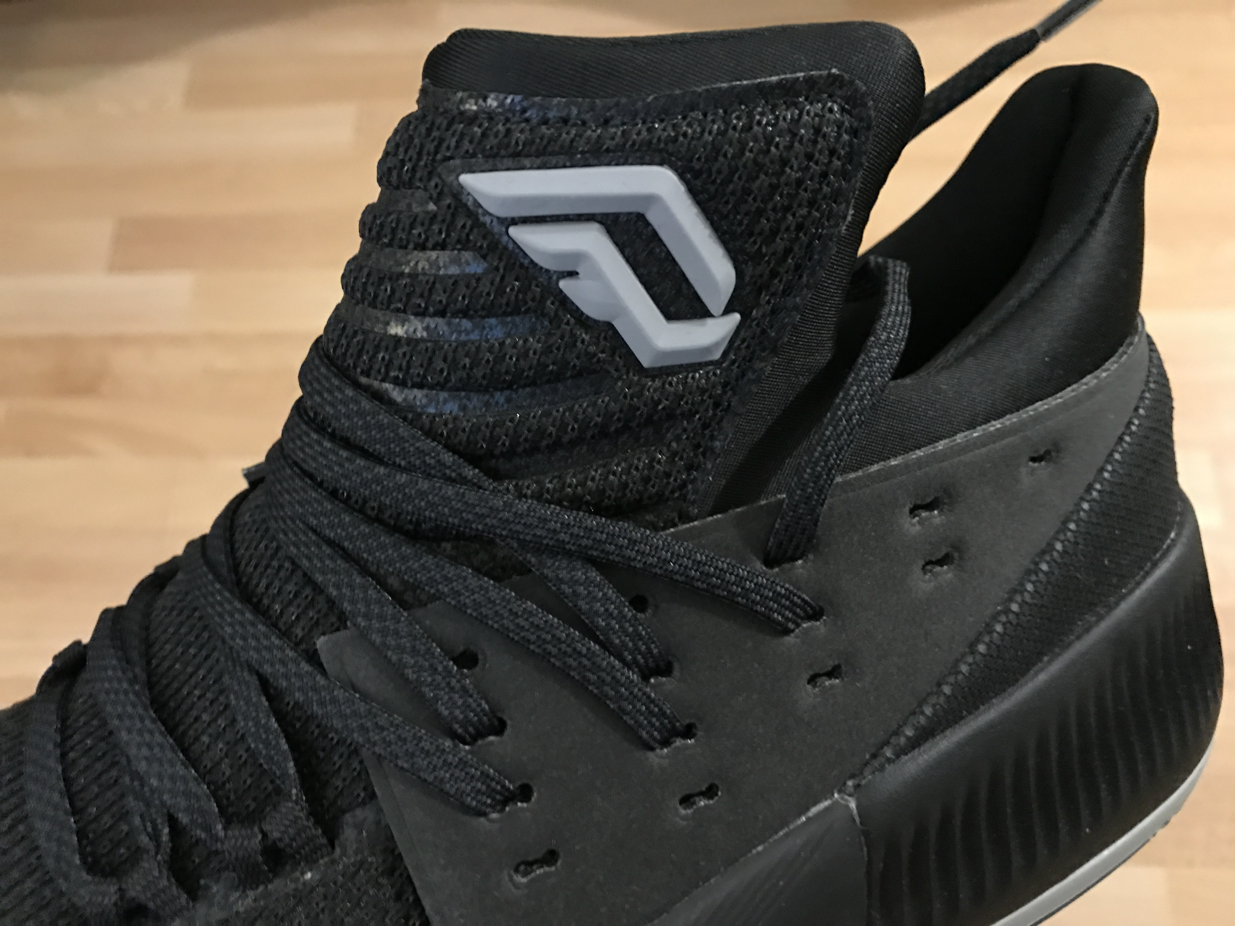"newest 6ca04 3833a Kicks on Deck adidas Dame 3 ""Lights Out""  Kicksologists.com"