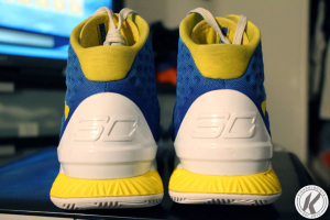 under armour curry 1 heel