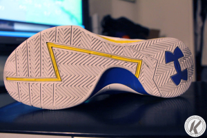 under armour curry 1 outsole