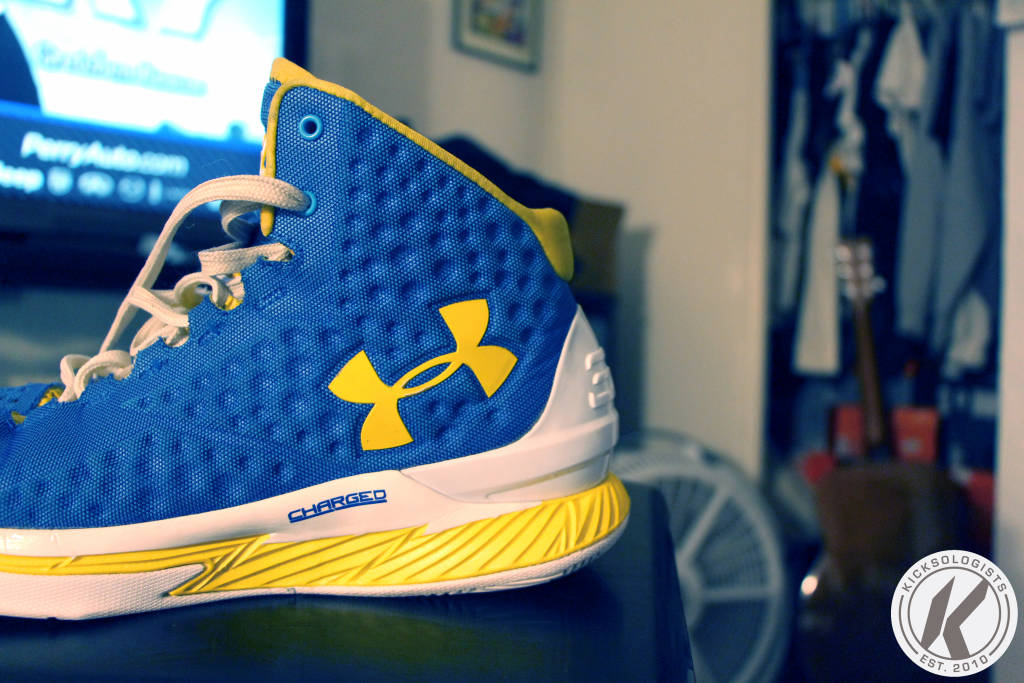 under armour curry 1 side