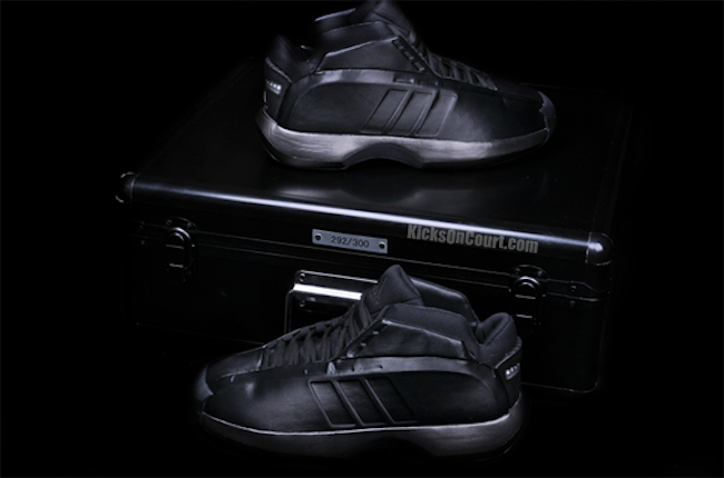 e3c2cbd003c3 Adidas Crazy 1 Blackout Released Today In China