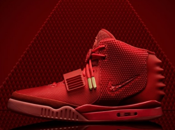 Air Yeezy 2 Red October Side