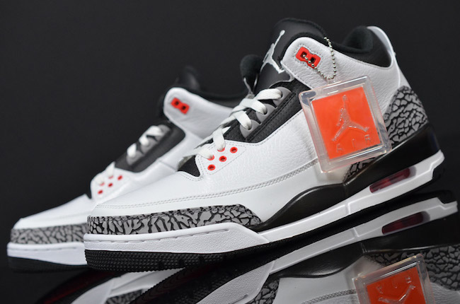 Air Jordan 3 Infrared 23 Release Information