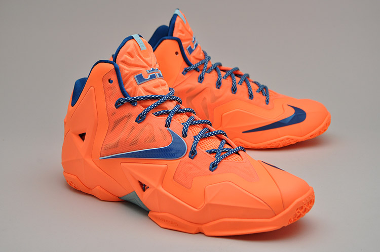 Lebron James Shoes 11 Orange