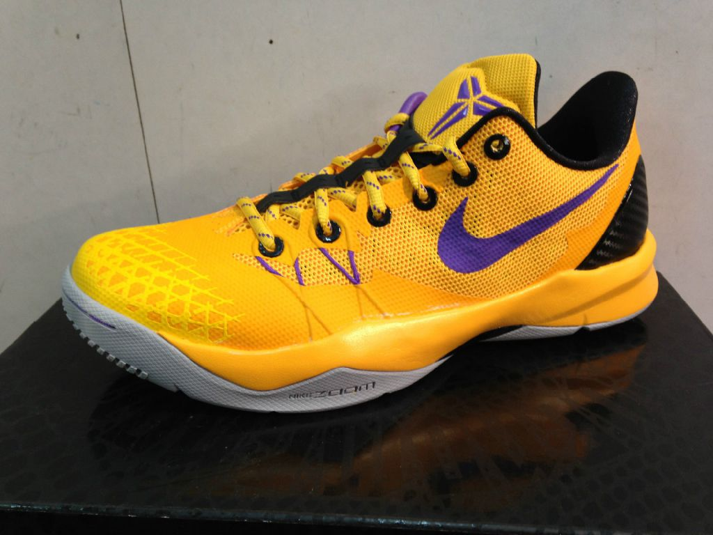 Unveiling of Kobe Venomenon 4 Lakers Colorway