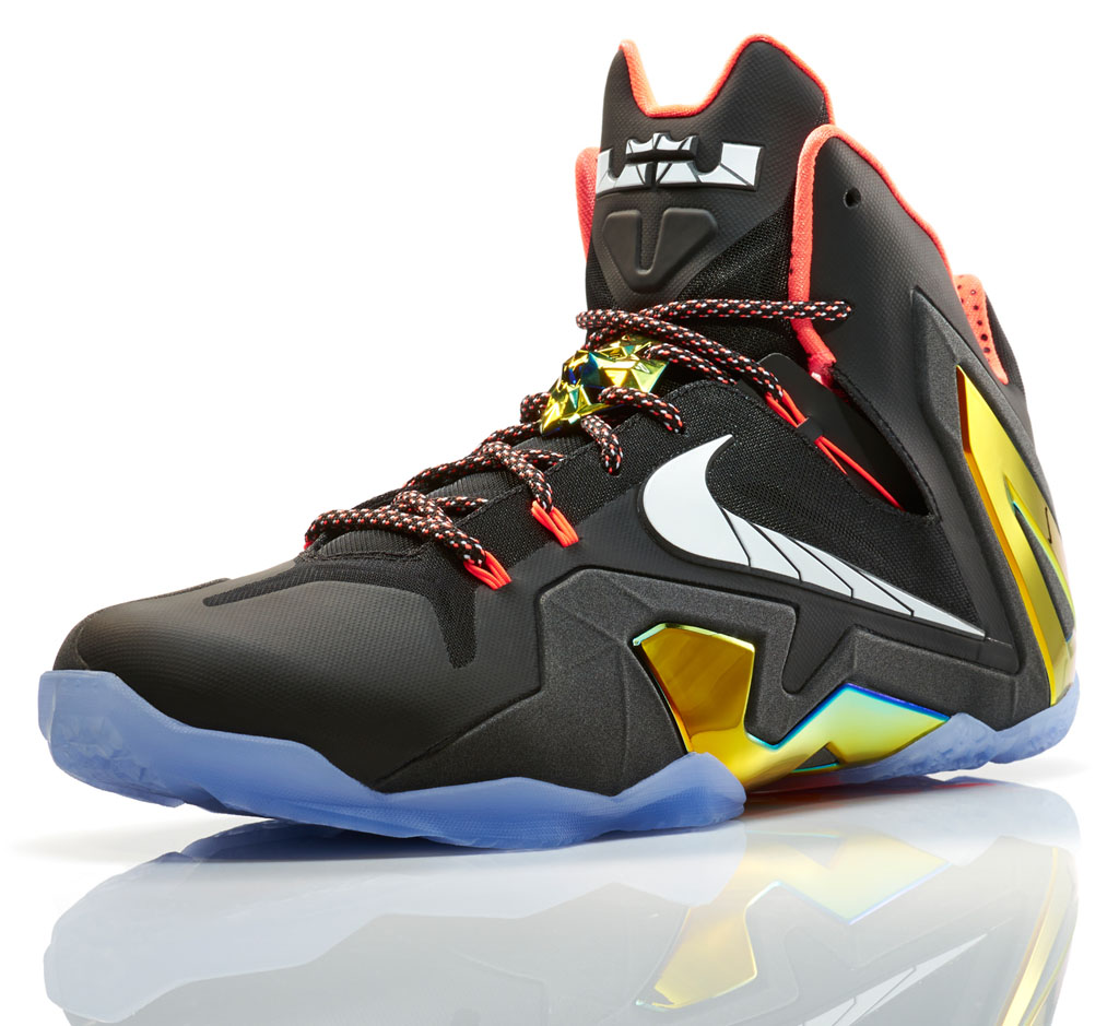 nike lebron 11 elite series gold collection