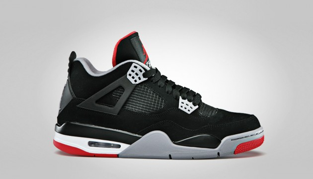 best sneakers c37a4 49bf7 Air Jordan 4 Bred