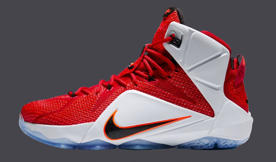finest selection 0ab69 33dfd Nike LeBron XII 12 Heart of a Lion