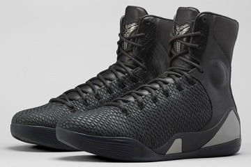 Black Mamba Nike Kobe 9 KRM EXT High Pair Front Angle