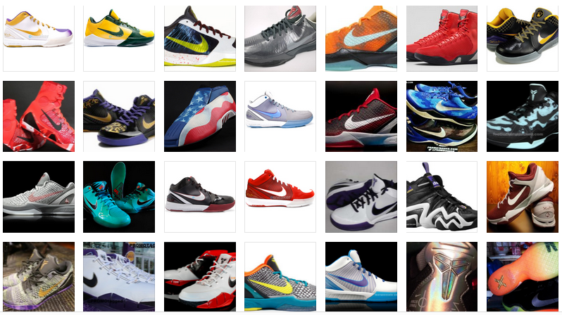 premium selection 3f6f4 7d42c Top 100 Kobe Bryant Sneakers  Colorways Ever Released
