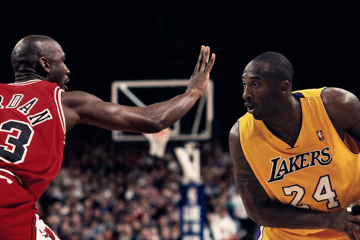 Michael Jordan and Kobe Bryant