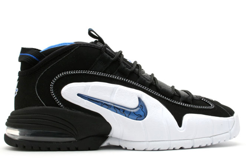 f7dac1b48ef27 Nike laced Penny Hardaway in classic sneakers during his first two seasons  in the NBA