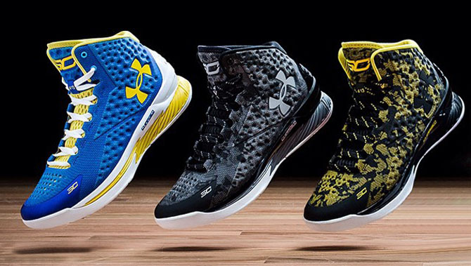 Under Armour Honors Steph Curry with Signature Shoe  f9f9752075ff