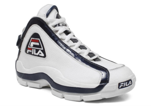 official photos 3373e 4a8c8 fila-grant-hill-ii-2-ninety-6-white-. Grant Hills second signature shoe ...