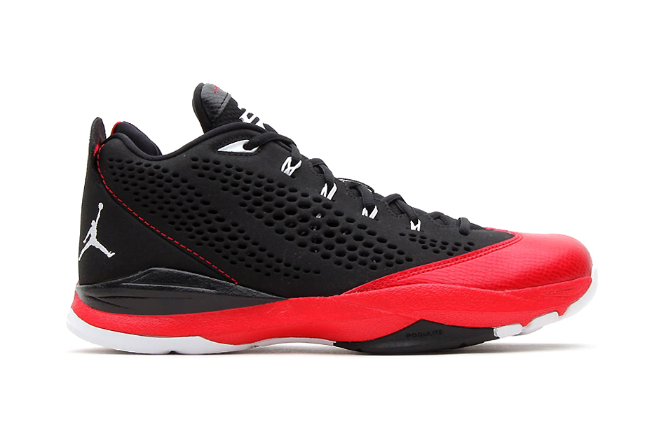 0e43e73b442bb5 jordan-cp3-vii-blackwhite-gym-red-cement-grey- • Jordan Brand gave one of  the most ...