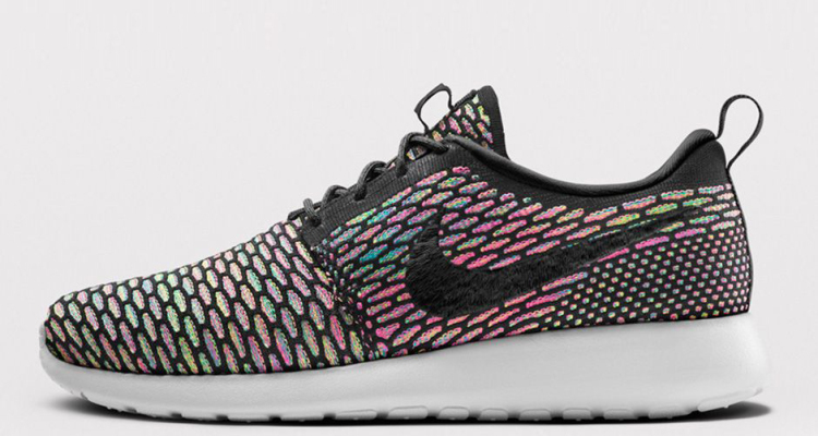 Nike Flyknit Roshe Run ID Available with Colorful Options |  Kicksologists.com