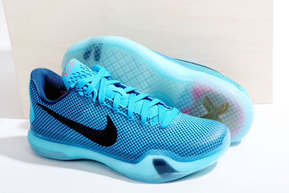 newest c3d42 09ae9 Nike Kobe X  Blue Lagoon – Available Now in Europe