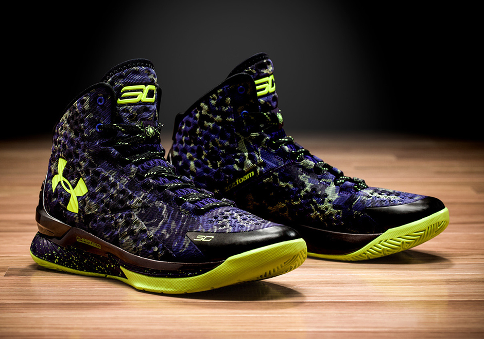 """ada01446fd55 Under Armour Curry One Low """"Two-A-Days"""""""