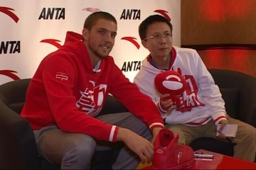 Chandler Parsons with ANTA