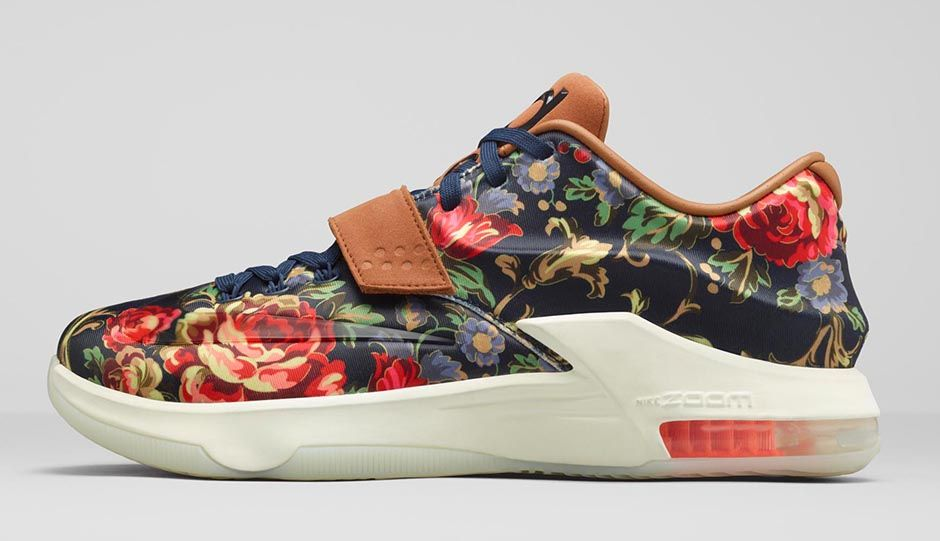 the best attitude 00509 adf7f Nike KD VII EXT Floral   Release Info   Photos