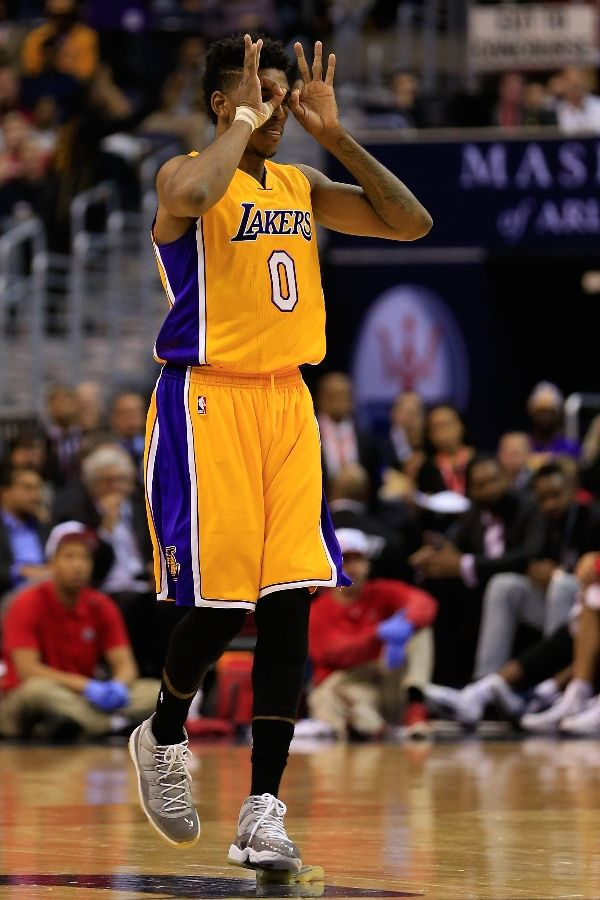 69228a5dd3da LA Lakers Nick Young Wants To Wear Nike Air Mag In An NBA Game ...