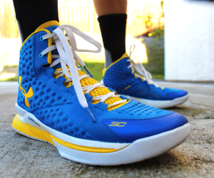under armour curry 1 home on foot