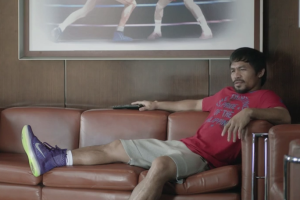 Manny Pacquiao wears KObe 10 commercial