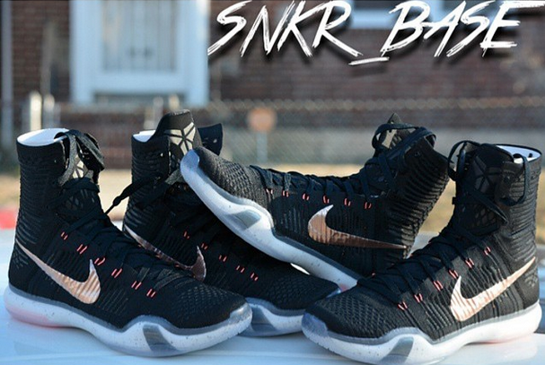Nike Kobe X Elite 'Rose Gold' Photos