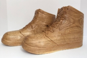 Wooden Nike 10