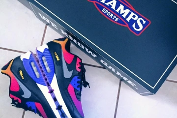nike air max 90 persian violet champs sports