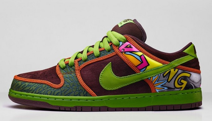 premium selection 70ccc 68252 In February, we saw the original De La Soul Nike Dunk SB lows turn into high  tops. As we all know, the De La Souls dropped in two versions back in 2005.