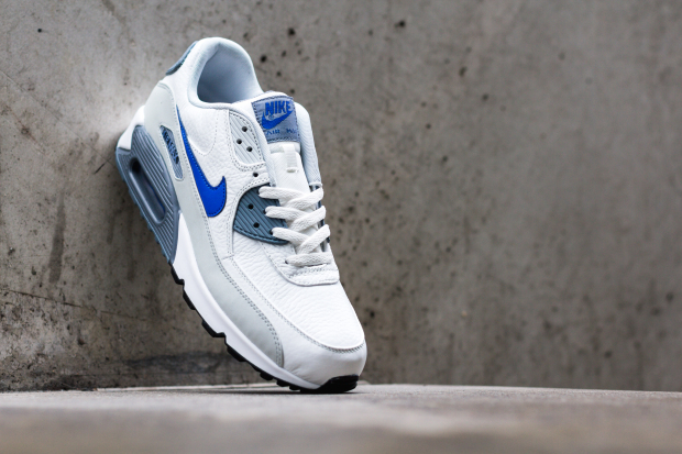 timeless design 4e94d 721b8 nike-air-max-90-leather-summit-white-lion-